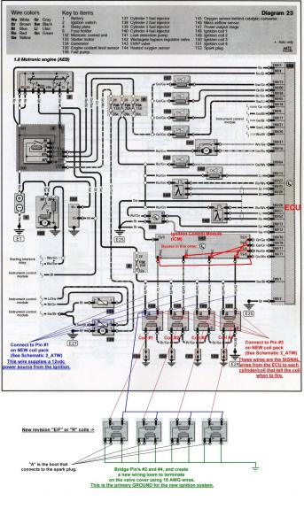 ICM Delete and FSI Coil Conversion | Volkswagen Passat Forum | Aeb 1 8t Wiring Diagram |  | Passat World