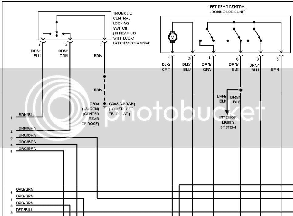B5 5 Wagon Door Wiring Diagram