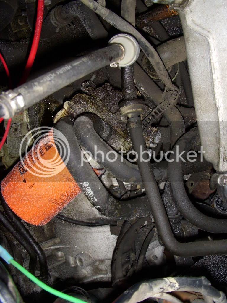 Oil cooler gasket pics and quick DIY | Volkswagen Passat Forum