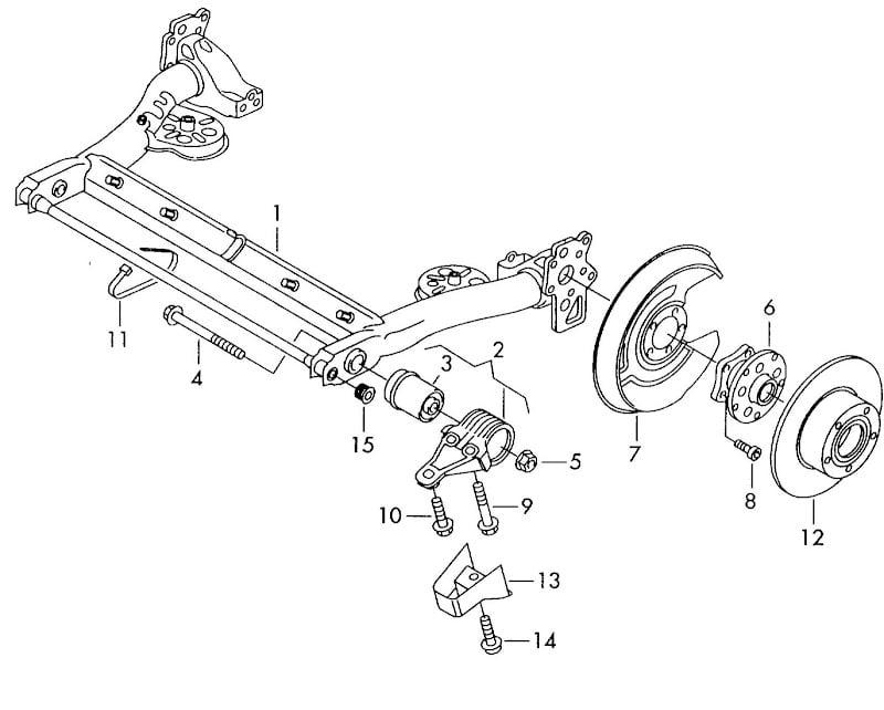 HELP: Bent Stub Axle???   Volkswagen Passat Forum