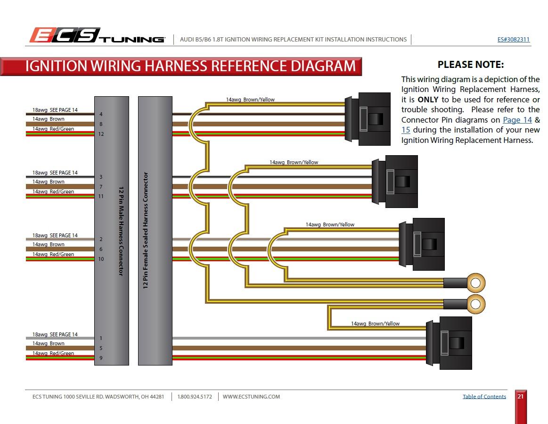 Cylinder 1 & 3 misfires, related? | Volkswagen Passat Forum | Aeb 1 8t Wiring Diagram |  | Passat World